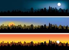 城市天空 向量例证