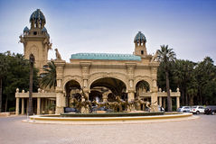 城市失去的宫殿 免版税库存照片