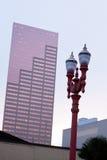 城市奇怪老和新式的现代和巴洛克式的波特兰 库存图片