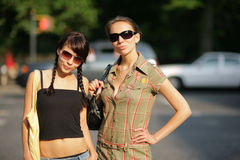 城市女孩 免版税库存图片