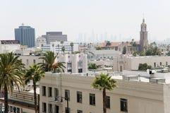 城市好莱坞 免版税库存照片