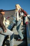 城市妇女 免版税图库摄影