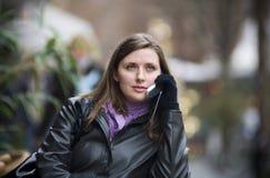 城市妇女 免版税库存图片