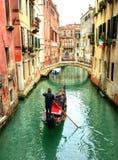 城市威尼斯的看法 免版税库存照片