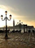 城市威尼斯的看法 免版税图库摄影