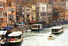 城市威尼斯的看法 库存图片