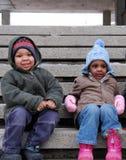城市孩子 免版税库存照片