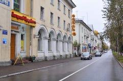 城市安加尔斯克 夏天2011年- 91 图库摄影