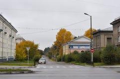 城市安加尔斯克 夏天2011年- 87 免版税库存照片