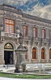 城市实际墨西哥的palacio 免版税图库摄影