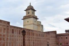 城市宫殿斋浦尔,印度 免版税库存照片