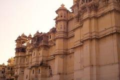 城市宫殿udaipur 免版税图库摄影