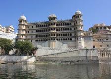城市宫殿udaipur 库存图片