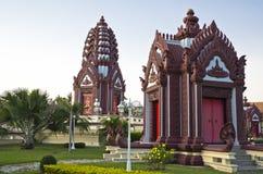 城市寺庙 免版税图库摄影