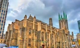 城市居民团结的教会在多伦多,加拿大 库存图片