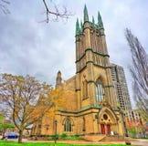 城市居民团结的教会在多伦多,加拿大 免版税图库摄影