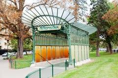 巴黎城市居民 库存图片