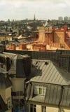 城市屋顶 免版税库存照片