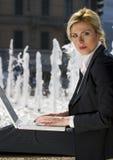城市工作 免版税库存图片