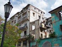城市巴拿马贫民窟 免版税库存图片
