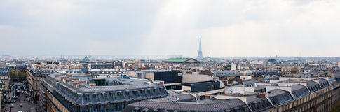 城市巴黎地平线 免版税图库摄影