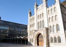 城市市政厅伦敦 库存照片
