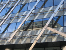 城市布拉格反映纹理 免版税图库摄影