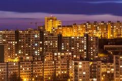 城市布拉索夫,斯洛伐克 免版税库存照片