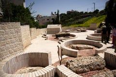 城市希布伦以色列 图库摄影