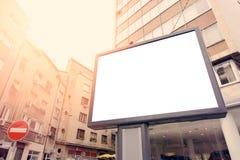 城市广告牌 库存图片