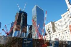 城市建筑地面纽约零 免版税图库摄影