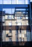 城市建筑学反射 免版税库存照片