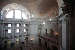 城市弗朗西斯科大厅圣 库存图片