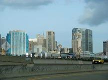 城市弗朗西斯科・圣地平线 免版税库存图片
