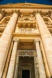 城市彼得s圣徒正方形梵蒂冈 免版税图库摄影