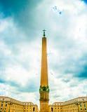 城市彼得s圣徒正方形梵蒂冈 库存图片