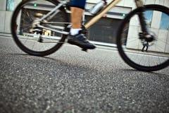城市循环的人街道 免版税库存照片