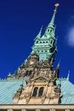 城市德国大厅汉堡 库存照片