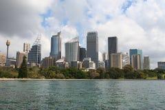 城市悉尼视图 免版税库存照片