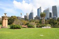 城市悉尼视图 库存图片