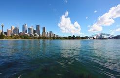 城市悉尼 免版税图库摄影