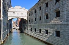 城市意大利威尼斯视图 库存图片