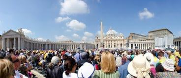 城市意大利梵蒂冈 库存图片
