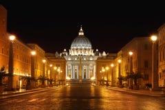 城市意大利罗马梵蒂冈 免版税库存照片