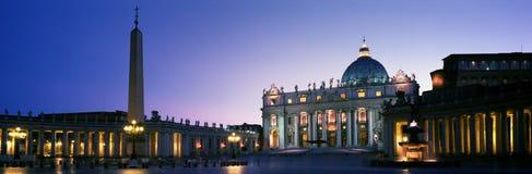 城市意大利罗马梵蒂冈 免版税图库摄影
