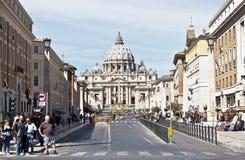 城市意大利罗马梵蒂冈 图库摄影
