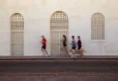 城市慢跑者运行 免版税库存照片