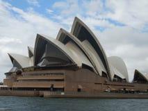 城市房子歌剧悉尼符号 免版税库存图片