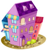 城市房子 库存图片