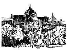 城市房子 免版税图库摄影